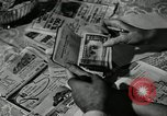 Image of family of auto worker Detroit Michigan USA, 1950, second 36 stock footage video 65675032774