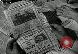 Image of family of auto worker Detroit Michigan USA, 1950, second 44 stock footage video 65675032774