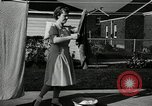 Image of family of auto worker Detroit Michigan USA, 1950, second 61 stock footage video 65675032774