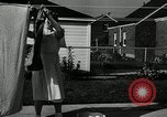 Image of family of auto worker Detroit Michigan USA, 1950, second 62 stock footage video 65675032774