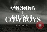 Image of cowboy activities Marfa Texas USA, 1943, second 20 stock footage video 65675032775