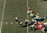 Image of American football match Miami Florida USA, 1958, second 41 stock footage video 65675032782
