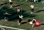 Image of American football match Miami Florida USA, 1958, second 46 stock footage video 65675032782