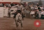 Image of rodeo United States USA, 1958, second 15 stock footage video 65675032784