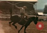 Image of rodeo United States USA, 1958, second 22 stock footage video 65675032784