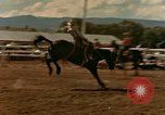Image of rodeo United States USA, 1958, second 25 stock footage video 65675032784