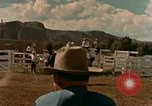 Image of rodeo United States USA, 1958, second 27 stock footage video 65675032784