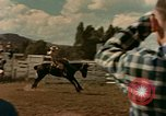 Image of rodeo United States USA, 1958, second 28 stock footage video 65675032784