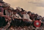 Image of rodeo United States USA, 1958, second 36 stock footage video 65675032784