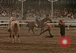 Image of rodeo United States USA, 1958, second 54 stock footage video 65675032784