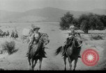 Image of Wagon trains of pioneers moving west United States USA, 1954, second 13 stock footage video 65675032789