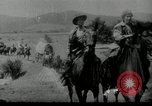 Image of Wagon trains of pioneers moving west United States USA, 1954, second 14 stock footage video 65675032789