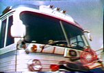 Image of dialysis on wheels United States USA, 1972, second 32 stock footage video 65675032793