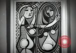 Image of Famous modern art paintings New York City USA, 1950, second 2 stock footage video 65675032806
