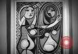 Image of Famous modern art paintings New York City USA, 1950, second 3 stock footage video 65675032806