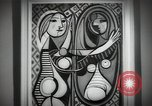 Image of Famous modern art paintings New York City USA, 1950, second 5 stock footage video 65675032806