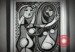 Image of Famous modern art paintings New York City USA, 1950, second 6 stock footage video 65675032806