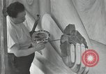 Image of Diego Rivera Detroit Michigan USA, 1932, second 27 stock footage video 65675032813