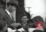 Image of Hollywood Actor give autographs Los Angeles California USA, 1936, second 5 stock footage video 65675032817