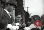 Image of Hollywood Actor give autographs Los Angeles California USA, 1936, second 7 stock footage video 65675032817