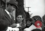 Image of Hollywood Actor give autographs Los Angeles California USA, 1936, second 9 stock footage video 65675032817