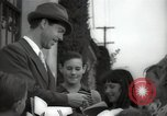 Image of Hollywood Actor give autographs Los Angeles California USA, 1936, second 12 stock footage video 65675032817