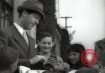 Image of Hollywood Actor give autographs Los Angeles California USA, 1936, second 13 stock footage video 65675032817