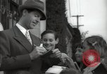 Image of Hollywood Actor give autographs Los Angeles California USA, 1936, second 15 stock footage video 65675032817