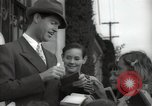 Image of Hollywood Actor give autographs Los Angeles California USA, 1936, second 16 stock footage video 65675032817
