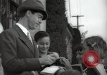 Image of Hollywood Actor give autographs Los Angeles California USA, 1936, second 17 stock footage video 65675032817