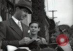 Image of Hollywood Actor give autographs Los Angeles California USA, 1936, second 20 stock footage video 65675032817