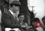 Image of Hollywood Actor give autographs Los Angeles California USA, 1936, second 25 stock footage video 65675032817