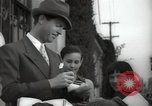 Image of Hollywood Actor give autographs Los Angeles California USA, 1936, second 26 stock footage video 65675032817
