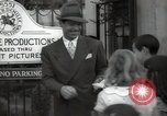 Image of Hollywood Actor give autographs Los Angeles California USA, 1936, second 37 stock footage video 65675032817