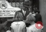 Image of Hollywood Actor give autographs Los Angeles California USA, 1936, second 38 stock footage video 65675032817