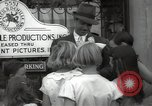Image of Hollywood Actor give autographs Los Angeles California USA, 1936, second 39 stock footage video 65675032817