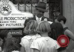 Image of Hollywood Actor give autographs Los Angeles California USA, 1936, second 40 stock footage video 65675032817