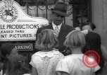 Image of Hollywood Actor give autographs Los Angeles California USA, 1936, second 41 stock footage video 65675032817