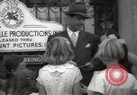Image of Hollywood Actor give autographs Los Angeles California USA, 1936, second 42 stock footage video 65675032817