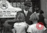 Image of Hollywood Actor give autographs Los Angeles California USA, 1936, second 43 stock footage video 65675032817