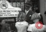 Image of Hollywood Actor give autographs Los Angeles California USA, 1936, second 44 stock footage video 65675032817
