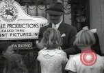 Image of Hollywood Actor give autographs Los Angeles California USA, 1936, second 45 stock footage video 65675032817