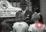 Image of Hollywood Actor give autographs Los Angeles California USA, 1936, second 46 stock footage video 65675032817