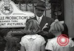 Image of Hollywood Actor give autographs Los Angeles California USA, 1936, second 47 stock footage video 65675032817