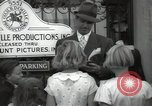 Image of Hollywood Actor give autographs Los Angeles California USA, 1936, second 49 stock footage video 65675032817