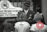 Image of Hollywood Actor give autographs Los Angeles California USA, 1936, second 50 stock footage video 65675032817