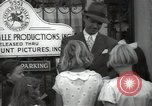 Image of Hollywood Actor give autographs Los Angeles California USA, 1936, second 51 stock footage video 65675032817