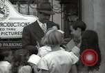 Image of Hollywood Actor give autographs Los Angeles California USA, 1936, second 56 stock footage video 65675032817