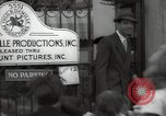 Image of Hollywood Actor give autographs Los Angeles California USA, 1936, second 58 stock footage video 65675032817