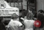 Image of Hollywood Actor give autographs Los Angeles California USA, 1936, second 59 stock footage video 65675032817
